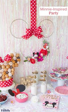 All the Inspiration You Need for a Magical Minnie Mouse Party