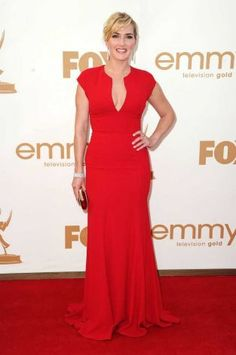 2011 Emmy Awards - Outstanding Lead Actress in a Miniseries or a Movie Winner Kate Winslet in Elie Saab