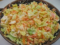 Chinese cabbage salad Kathie, a nice recipe from the vegetable category. Ratings: Average: Ø Chinese cabbage salad Kathie, a nice recipe from the vegetable category. Chef Salad Recipes, Salad Recipes Healthy Lunch, Salad Recipes For Dinner, Chicken Salad Recipes, Easy Healthy Recipes, Cabbage Recipes, Avocado Recipes, Healthy Lunches, Drink Recipes
