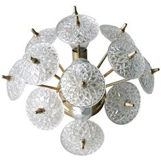 Wall Light by Val St Lambert   From a unique collection of antique and modern wall lights and sconces at https://www.1stdibs.com/furniture/lighting/sconces-wall-lights/