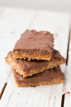 Peanut Butter Chocolate Rice Krispies AKA Scotcheroos