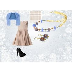 """""""Cleopatra Necklace and Earrings"""" by i-tre-mercanti on Polyvore"""