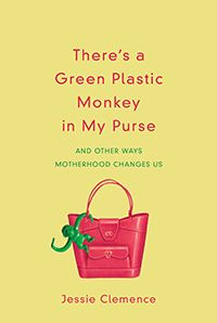"""hangingoffthewire.com.  I won the book There's a Green Plastic Monkey in my Purse"""" by Jessie Clemence, on Hayley Kolb's  hangingoffthewire.com.  4/14/13"""