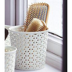 Faux-Rattan-Storage-Pot-Medium round from Lakeland