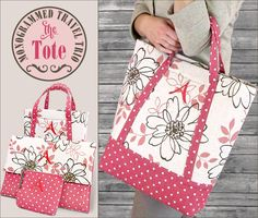 Monogrammed Travel Trio - The Tote: Janome America