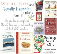 The Unplugged Family: Morning Time and Family Learning Plans for Term 1 {...and how I've changed up our Morning Time and introduced our first Loop Schedule!}