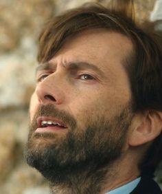 David Tennant as Alec Hardy in Broadchurch