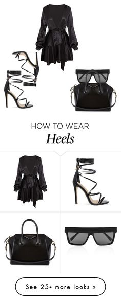 """""""Untitled #291"""" by vintageboujee on Polyvore featuring Victoria Beckham and Givenchy"""