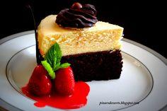 Devil's Food Cake Cheesecake