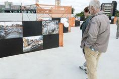 De vele foto's geven een beeld van de bouwwerkzaamheden tot nu toe. Maar ook over hoe Maankwartier er uitziet als het klaar is.