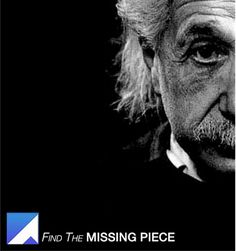 einstein4of5 Missing Piece, Artsy, Photoshop, Places, Lugares