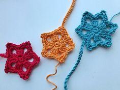 """Advent Calendar * December 16 * Crochet Star """"Last Minute"""""""