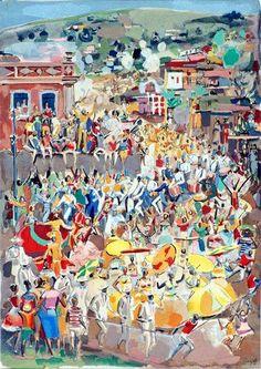 Carnaval, de Carybé (1962)