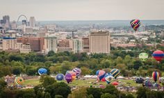 Photos | Great Forest Park Balloon Race | St Louis MO