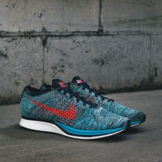 26313a202f87 Nike - Men s Flyknit Racer (Neo Turquoise
