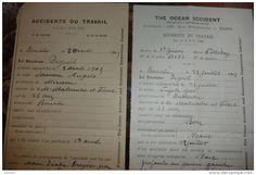 Salau Bonabe 1903 accidents du travail