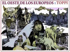 Sergio Toppi (1932-2012)   Otra lamentable noticia que enluta al mundo de la gran historieta -parafraseando un lema de la recordada revis...