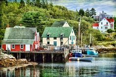 Northwest Cove, on the Aspotogan Peninsula (often called the Blandford… Discover Canada, Atlantic Canada, Cape Breton, O Canada, Prince Edward Island, New Brunswick, Fishing Villages, Beautiful Places In The World, Travel Memories