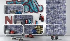 9 Diverse and Practical Shelving Units For an Original Interior
