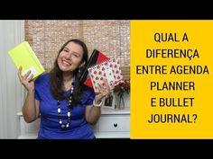 Kalinka Carvalho- Blog - Vídeo: Qual a diferença entre agenda, planner e bullet journal?