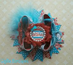 Dr.Seuss Hair Bow by GigiBeBoutique on Etsy, $8.00
