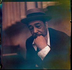 Rare color slide of Duke Ellington © Matthew Salacuse
