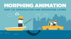 In this tutorial, we'll explore how to animate the transitional effect between 2 different scenes in After Effects using various animation techniques. Graphic Design Lessons, Graphic Design Typography, Branding Design, Motion Design, Web Design, Flat Design, Vector Design, Design Trends, Motion Graphs