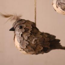 birch bark bird