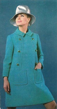 Retro Vintage Dresses, Mode Vintage, Retro Dress, Vintage Style, 60s Mod Fashion, Modern Fashion, Vintage Fashion, Ringo Starr, Retro Outfits