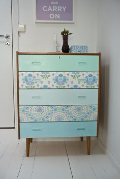 a fun dresser project for a child's room