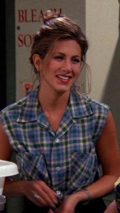 Friends Monica Geller, Ross Friends, Rachel Green Friends, Rachel Green Outfits, Joey And Rachel, Monica And Chandler, Friends Poster, Ross Geller, Top Les