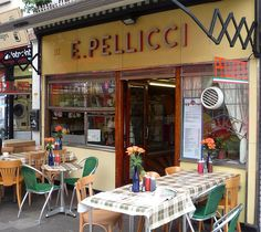 E. Pellicci: Bethnal Green Road by curry15, via Flickr-London, England