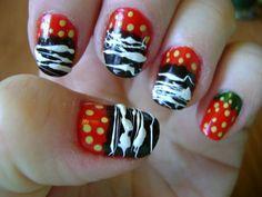 Chocolate Dipped Strawberries - #chocolate #strawberries #nailart #nails #nailartist - Bellashoot.com