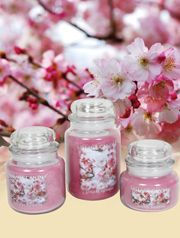 Fragrant delicately scented candles - create that perfect home atmosphere
