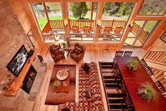Attitude Adjustment - This fabulous, luxury cabin offer everything you need to get an Attitude Adjustment! http://americanmountainrentals.com/cabin-detail/?cid=238