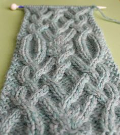 How to Knit a Fancy Celtic Cable Pattern with Studio Knit