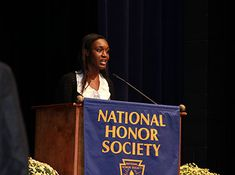 National Honor Society Induction - 2015:  A memorable occasion organized by Ms. Vardi and Mr. Zimmer, co-sponsors of NHS.  The students, most especially, Sabrina Epstein, emcee for the evening, conducted themselves with honor and pride.