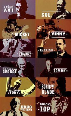 Snatch - Guy Richie sure loves his nicknames #BestofBritish #GangsterMovie #GangsterFlick