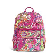 Vera Bradley Campus Backpack in Pink SwirlVera Bradley 50% of Sale http://poshonabudget.com/2016/07/vera-bradley-50-of-sale.html via @poshonabudgets