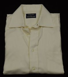 Gitman Bros Dress Shirt Mens Size 15 - 33 100% Cotton Beige Made in USA #Shopping #Style #Fashion http://www.ebay.com/itm/-/281400773368?roken=cUgayN via @eBay