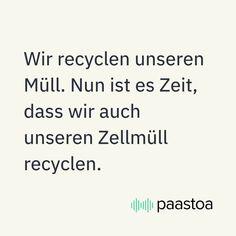 Werfe deine körpereigene Recyclinganlage an, indem Du fastest. Wenn Du mindestens 14 Stunden auf Nahrung verzichtest, fängt Dein Körper an, den angefallenen Zellmüll aufzuräumen und zu recyceln. So hat Dein Darm endlich die Möglichkeit, Platz zu schaffen und einen Großputz zu machen. Recycling, Math Equations, Recyle, Repurpose, Upcycle