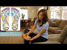 Stress Relief with Simple Foot Massage - ModernMom Massage & Reflexology - YouTube