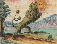 Лев. Алхимический и розенкрейцеров компендиум, 1760 г.