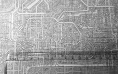 A Father Took Seven Years to Draw This Maze. It Might Be Impossible to Clear. City Illustration, Music Games, Maze, Beautiful Landscapes, Cool Words, City Photo, Graffiti, Father, Japan