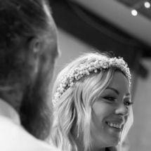 The Bride  at the Hayloft, Courington Court, Torquay, Devon