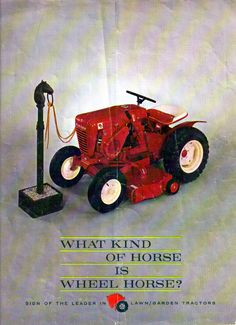 1964 Wheel Horse Sales Literature