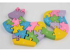 Ahşap Lego Bulmaca - Sincap -  - Anne, Bebek, Çocuk - 16,99 TL | markapella