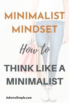 Developing a minimalist mindset will make you move forward to implement and integrate it into your daily life. It is the mindset to turn you live simply and minimally. Minimalist Living Tips, Becoming Minimalist, Minimalist Kids, Minimalist Lifestyle, Declutter Your Mind, Feeling Overwhelmed, Life Organization, Ways To Save Money, Simple Living