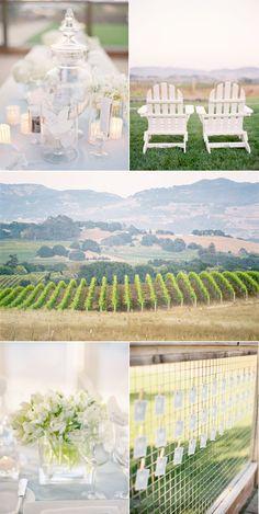 Napa Valley Wedding by Jose Villa Wedding Beauty, Dream Wedding, Grand Jour, Green Theme, Rustic Wedding Venues, Diy Wedding Decorations, Vineyard Wedding, Wine Country, Wedding Inspiration