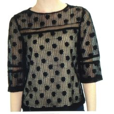 NEW RETAIL-RELISHED BEIGE OVERLOOK BLOUSE PLEASE LET ME KNOW WHAT SIZE YOU WANT BEFORE YOU ORDER-THE COLOR IS BLACK ONLY-LINING IS BEIG AND IS 83% POLYESTER/17% SPANDEX-MAIN TOP PART IS 72%,POLYESTER/28%?NYLON-I HAVE S/M/L Relished Tops Blouses